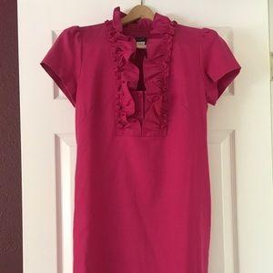 Fun pink dress for work!